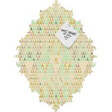 Pattern State Triangle Lake Magnet Board