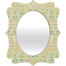 Pattern State Triangle Lake Wall Mirror