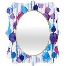 CMYKaren Abstract Wall Mirror
