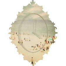 Shannon Clark Vintage Beach Wall Clock