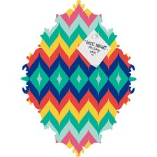 Juliana Curi Chevron 5 Magnet Board