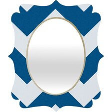 <strong>DENY Designs</strong> Holli Zollinger Chevron Baroque Wall Mirror