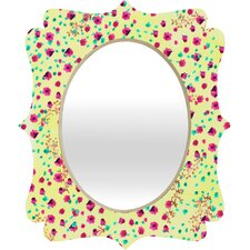 Joy Laforme Wind Swept Floral Wall Mirror