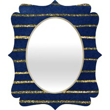 <strong>DENY Designs</strong> Social Proper Nautical Sparkle Wall Mirror