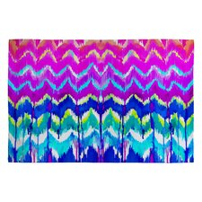 Holly Sharpe Summer Dreaming Pink Chevron Area Rug