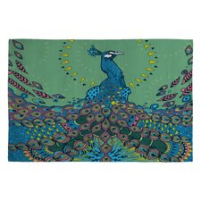 <strong>DENY Designs</strong> Geronimo Studio Peacock 1 Novelty Rug