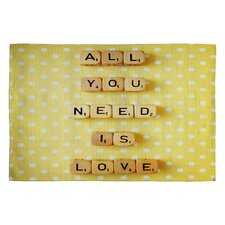 Happee Monkee All You Need Is Love 1 Novelty Rug