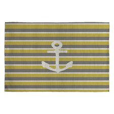 Bianca Green Anchor 2 Novelty Rug
