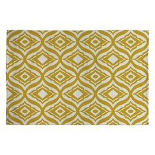 Heather Dutton Yellow Geometric Area Rug
