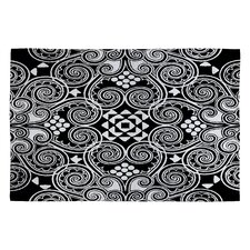 Budi Kwan Black Decographic Rug
