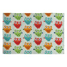 <strong>DENY Designs</strong> Andi Bird Owl Fun Kids Rug