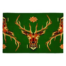 <strong>DENY Designs</strong> Chobopop Geometric Deer Novelty Rug