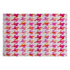 Betsy Olmsted Watercolor Houndstooth Area Rug