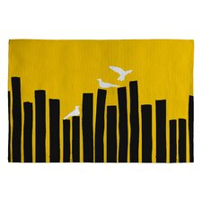 Budi Kwan on The Fence Novelty Rug