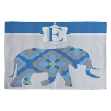 Jennifer Hill Mister Elephant Kids Rug
