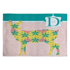 <strong>DENY Designs</strong> Jennifer Hill Miss Deer Kids Rug