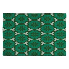 Holli Zollinger Dutch Pop Green Area Rug