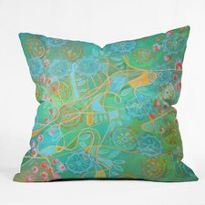 Stephanie Corfee Secret Garden Throw Pillow