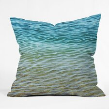Shannon Clark Ombre Sea Outdoor Throw Pillow