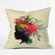 Budi Kwan Wildchild Outdoor Throw Pillow
