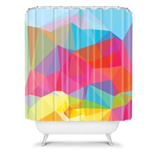 Three of the Possessed Crystal Crush Shower Curtain