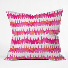 Betsy Olmsted Owl Feather Outdoor Throw Pillow