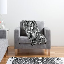 CityFabric Inc NYC Polyester Fleece Throw Blanket