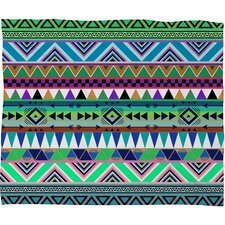 Bianca Green Esodrevo Polyester FleeceThrow Blanket
