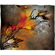 Iveta Abolina Before The Storm Polyester Fleece Throw Blanket