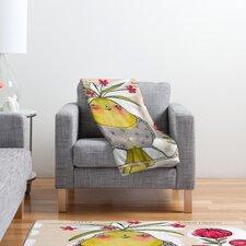 Cori Dantini Sweetness And Light Polyester Fleece Throw Blanket