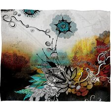 Iveta Abolina Frozen Dreams Polyester Fleece Throw Blanket