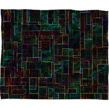 <strong>DENY Designs</strong> Jacqueline Maldonado Matrix Polyester Fleece Throw Blanket