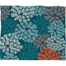 Khristian A Howell Greenwich Gardens 3 Polyester Fleece Throw Blanket