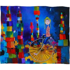 Robin Faye Gates Out of Bounds Polyester Fleece Throw Blanket