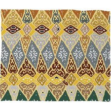 Romi Vega Diamond Tile Polyester Fleece Throw Blanket