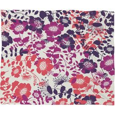 Khristian A Howell Provencal Lavender 2 Fleece Throw Blanket