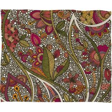 Valentina Ramos Kai Fleece Polyester Throw Blanket