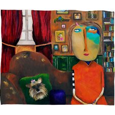 Robin Faye Gates with Bebe Polyester Fleece Throw Blanket