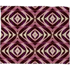 Wagner Campelo Calathea Polyester Fleece Throw Blanket