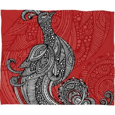 Valentina Ramos The Bird Polyester Fleece Throw Blanket