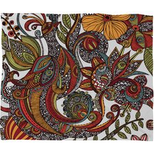 Valentina Ramos Paradise Bird Polyester Fleece Throw Blanket