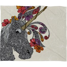 <strong>DENY Designs</strong> Valentina Ramos Unicornucopia Polyester Fleece Throw Blanket