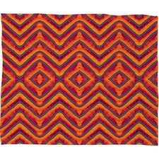Wagner Campelo Sanchezia 1 Polyester Fleece Throw Blanket