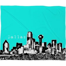 <strong>DENY Designs</strong> Bird Ave Dallas Polyester Fleece Throw Blanket