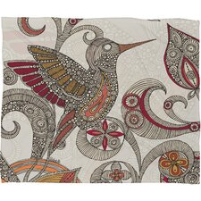 Valentina Ramos Flying Polyester Fleece Throw Blanket