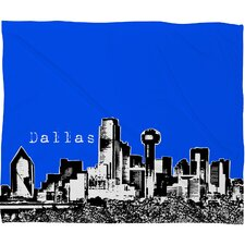 Bird Ave Dallas Polyester Fleece Throw Blanket