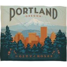 <strong>DENY Designs</strong> Anderson Design Group Portland Polyester Fleece Throw Blanket