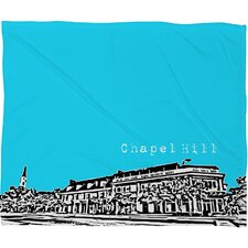 Bird Ave Chapel Hill Polyester Fleece Throw Blanket