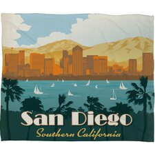 <strong>DENY Designs</strong> Anderson Design Group San Diego Polyester Fleece Throw Blanket