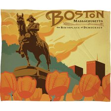 <strong>DENY Designs</strong> Anderson Design Group Boston Polyester Fleece Throw Blanket